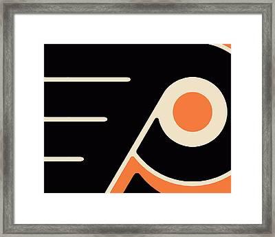 Philadelphia Flyers Size 2 Framed Print by Tony Rubino