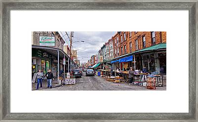 Philadelphia Italian Market 2 Framed Print by Jack Paolini