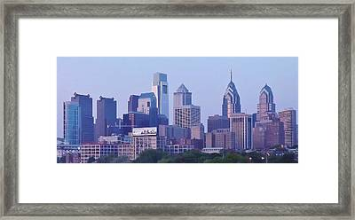 Philadelphia  Framed Print by John Wartman