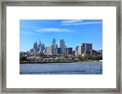 Philadelphia Living Framed Print