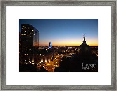 Philadelphia Night Framed Print by Tatianne Lugo