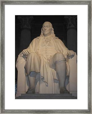 Philadelphia Pa - 12121 Framed Print by DC Photographer