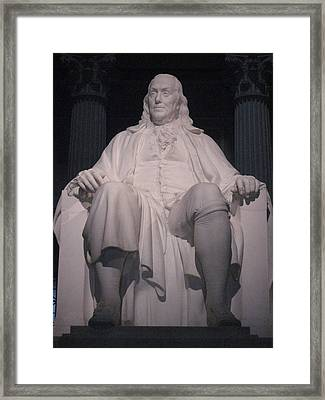 Philadelphia Pa - 12122 Framed Print by DC Photographer