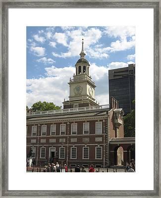 Philadelphia Pa - 121222 Framed Print by DC Photographer