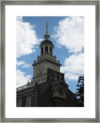 Philadelphia Pa - 121226 Framed Print by DC Photographer