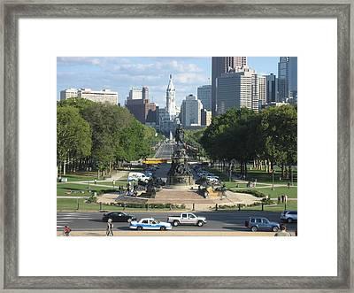 Philadelphia Pa - 121240 Framed Print by DC Photographer