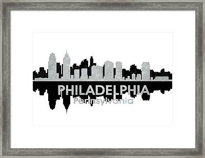 Philadelphia Pa 4 Framed Print by Angelina Vick