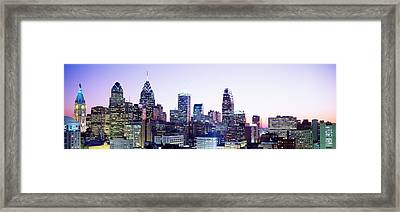 Philadelphia Pa Framed Print