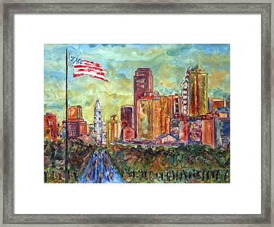 Philadelphia Framed Print by Pamela Parsons