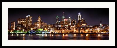 Downtown Philly Framed Prints