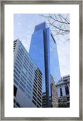 Philadelphia Skyline 3 Framed Print by Neil Overy