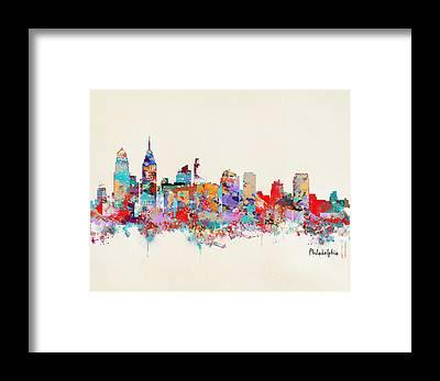 Designs Similar to Philadelphia Skyline