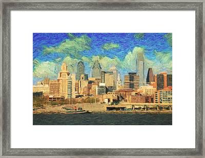 Philadelphia  Framed Print by Taylan Apukovska