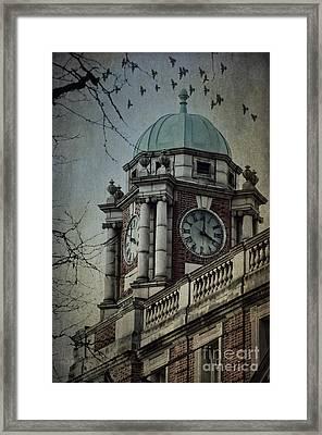 Philadelphia Tour Framed Print by Judy Wolinsky