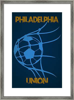 Philadelphia Union Goal Framed Print by Joe Hamilton
