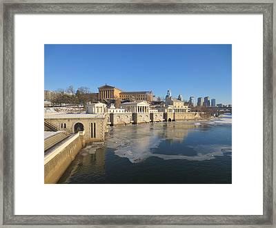 Philadelphia Water Works Framed Print
