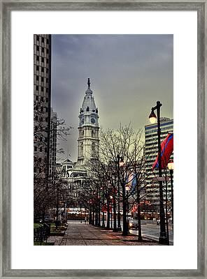 Philadelphia's Iconic City Hall Framed Print by Bill Cannon