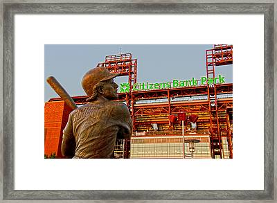 Philadelphia's Legend Framed Print
