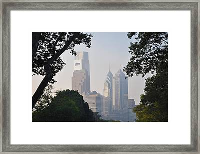 Philadelphia's Skyscrapers Framed Print by Bill Cannon