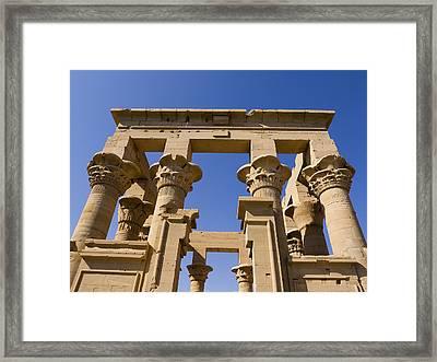 Philae Temple Egypt Framed Print by Brenda Kean