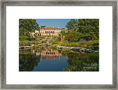 Philbrook Museum Of Art, Oklahoma Framed Print by Richard and Ellen Thane