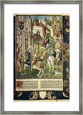 Philip I Of France 1052-1108. King Framed Print
