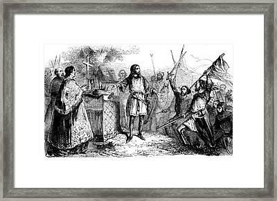 Philip II Of France Framed Print