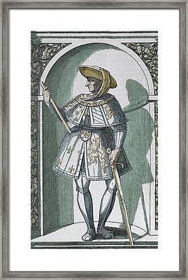 Philip IIi 'the Good' (dijon, 1396 Framed Print by Prisma Archivo
