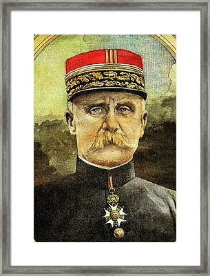 Philippe Petain Framed Print by Collection Abecasis