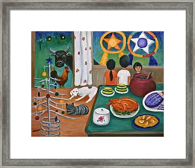 Philippine Christmas 2 Framed Print