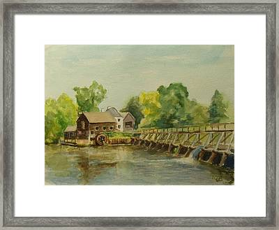 Philipsburg Manor Tarritown Framed Print