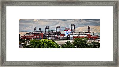 Phillies Stadium Framed Print