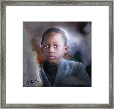 Framed Print featuring the painting Phillipe by Bob Salo