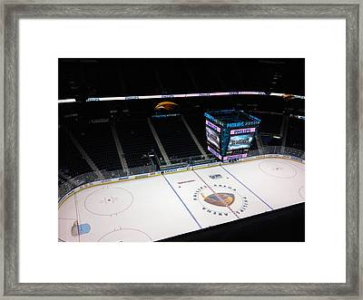 Phillips Arena Framed Print