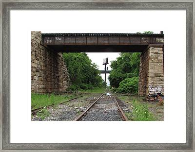 Philly 1 Framed Print by Steve Breslow