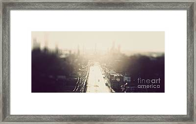 Philly Streets Framed Print by Kenny  Noddin