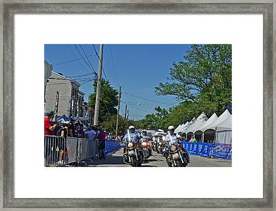Philly's Finest Framed Print by Lisa Phillips
