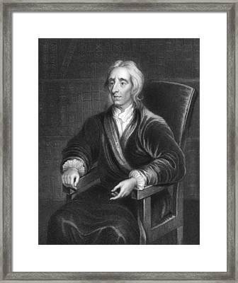 Philosopher John Locke Framed Print