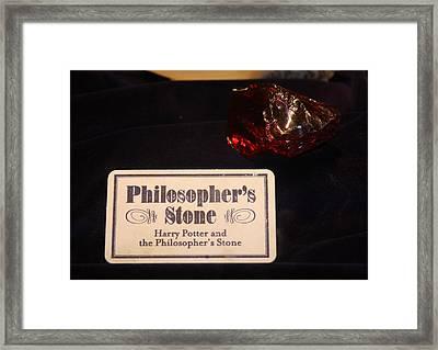 Philosopher's Stone Framed Print by David Nicholls