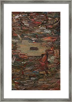 Philosophers' Stone Framed Print by Sergey Matveev