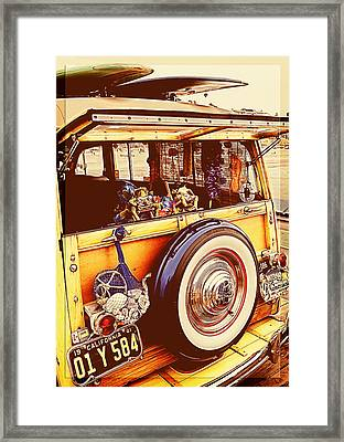 Phil's Fabulous 41 Framed Print