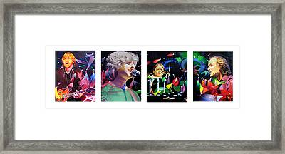 Phish Full Band Framed Print