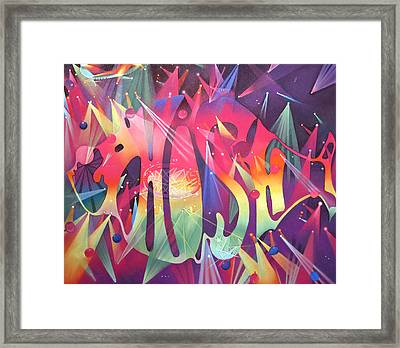 Phish The Mother Ship Framed Print by Joshua Morton
