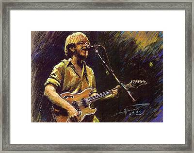 Phish Framed Print by Ylli Haruni