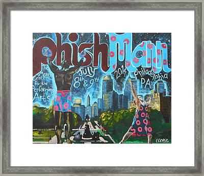 Phishmann Framed Print by Kevin J Cooper Artwork