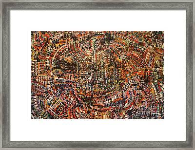 Phobia Framed Print by Michael Kulick