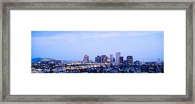 Phoenix Arizona Usa Framed Print by Panoramic Images