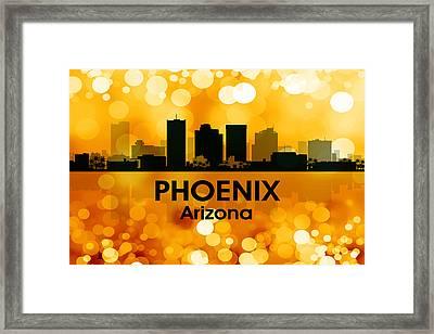 Phoenix Az 3 Framed Print by Angelina Vick