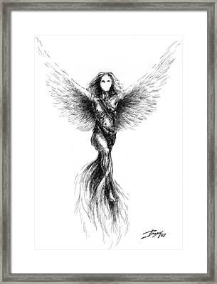 Phoenix Framed Print by Boyan Donev