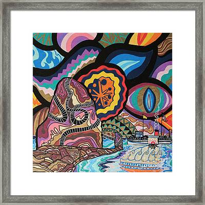 Phoenix Framed Print by Carlos Martinez